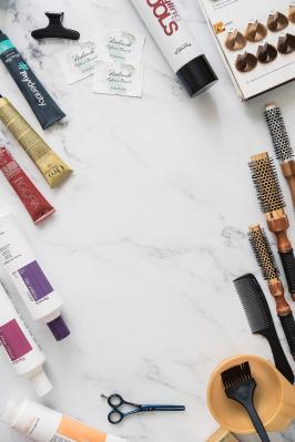 Packshot photographe dax coiffeur photo produits boutique