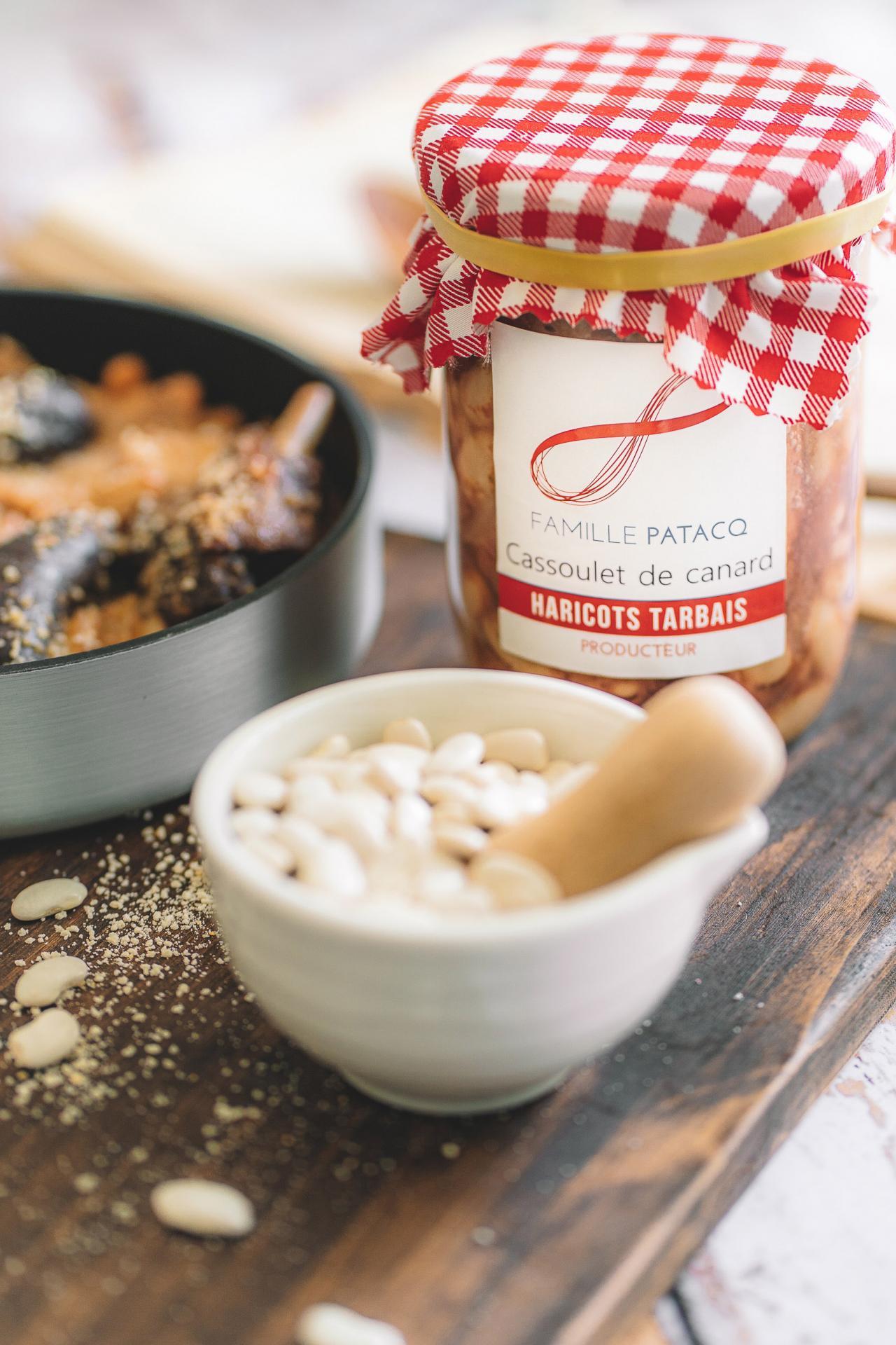 Label rouge haricot tarbais patacq photographe culinaire