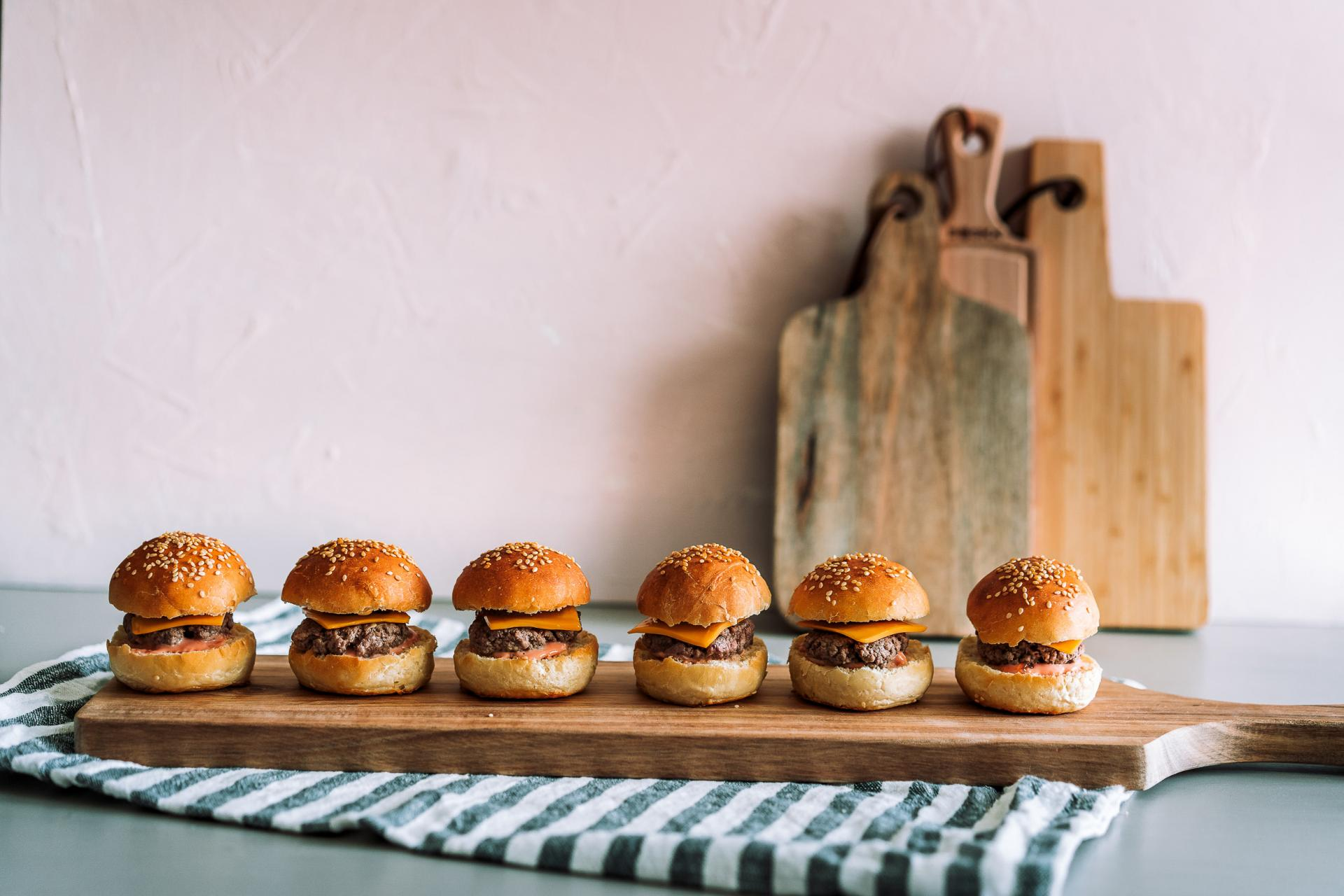 Mini burger photo culinaire mise en avant produits landes